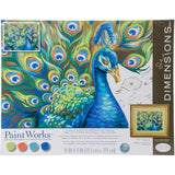 Paint Works Paint By Number Kit Wild Feathers 14inX11in