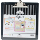 Doodlebug Clipart Monochromatic Clipboard Beetle Black 13.5inX13.5in