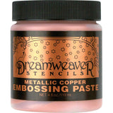 Dreamweaver Embossing Paste Copper 4oz