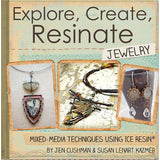 Ice Resin Mixed Media Technique Book Explore Create Resinate Jewelry