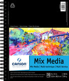 Canson Mix Media Pad 9inX12in 30 Sheets