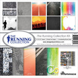 Reminisce Collection Kit Running 12inX12in