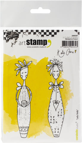 Carabelle Studio Cling Stamp A6 By Kate Crane Lolly Dolly