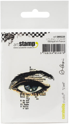 Carabelle Studio Cling Stamp Small The Eye