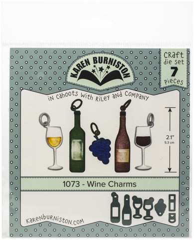 Karen Burniston Dies Wine Charms