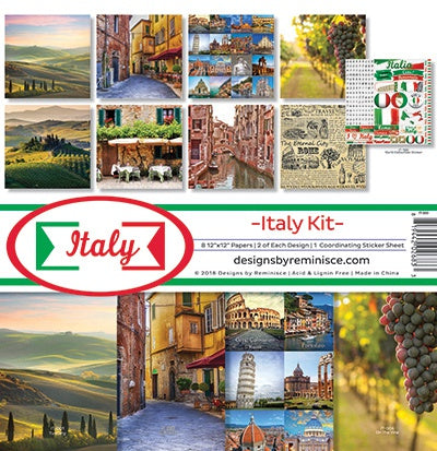 Reminisce Collection Kit 12inx12in Italy