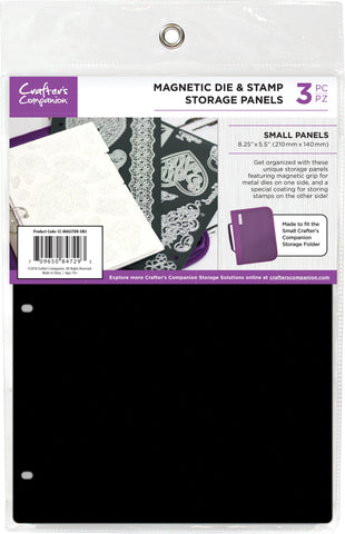 Crafter's Companion Magnetic Storage Panels Small 3pk 8.25inX5.5in