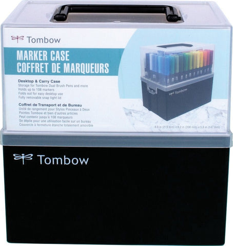 Tombow Marker Case-Empty Holds 108 Dual Brush Pens
