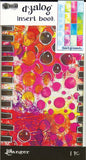 Dyan Reaveley's Dylusions Dyalog Insert Book Backgrounds No2 4.375inX8.25in