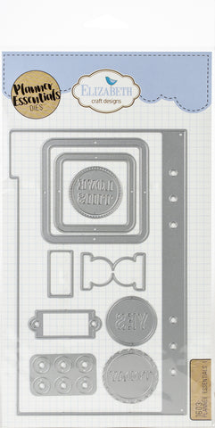 Elizabeth Craft Metal Die Planner Essentials 1