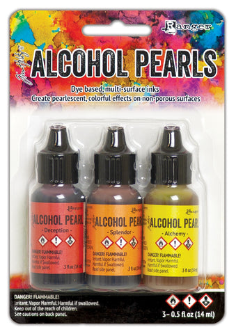 Tim Holtz Alcohol Ink Pearls Kits No1 3pk