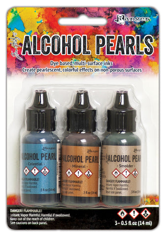 Tim Holtz Alcohol Ink Pearls Kits No4 3pk