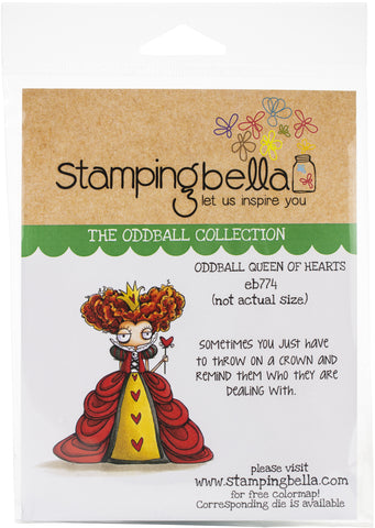 Stamping Bella Cling Stamps Oddball Queen Of Hearts