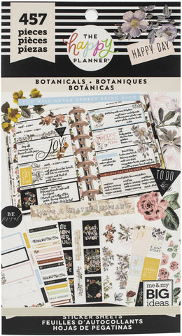 Happy Planner Sticker Value Pack Vintage Botanical 457pk