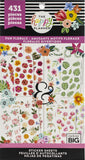 Happy Planner Sticker Value Pack Romantic Florals 431pk