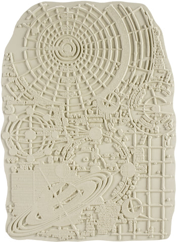 Carabelle Studio Cling Stamp A5 By Alexis Solar System