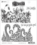 Dyan Reaveley's Dylusions Cling Stamp Collections Just Breathe 8.5inX7in