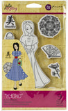 Prima Marketing Julie Nutting Mixed Media Cling Rubber Stamp Kyoko