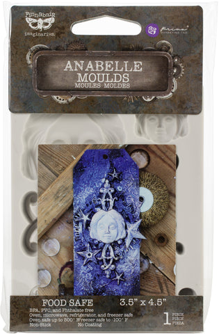 Finnabair Decor Moulds Anabelle 3.5inX4.5in