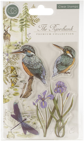 Craft Consortium A5 Clear Stamps Kingfisher