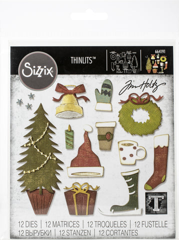 Sizzix Thinlits Dies By Tim Holtz Festive Things