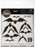 Sizzix Thinlits Dies By Tim Holtz Bat Crazy