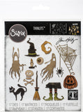 Sizzix Thinlits Dies By Tim Holtz Frightful Things