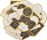Kaisercraft Collectables Cardstock Die-Cuts-With Love White & Gold