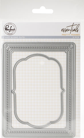 Pinkfresh Studio Essentials Die Set Pretty Frames 1