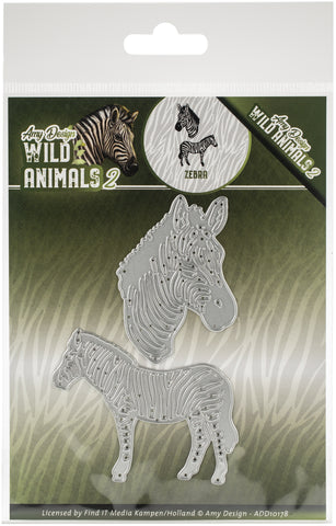 Find It Trading Amy Design Die Zebra Wild Animals 2