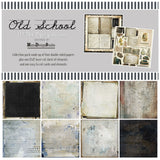 49 And Market Collection Pack Old School 12inX12in