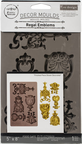 Prima Marketing Re-Design Mould Regal Emblems 5inX8inX8mm