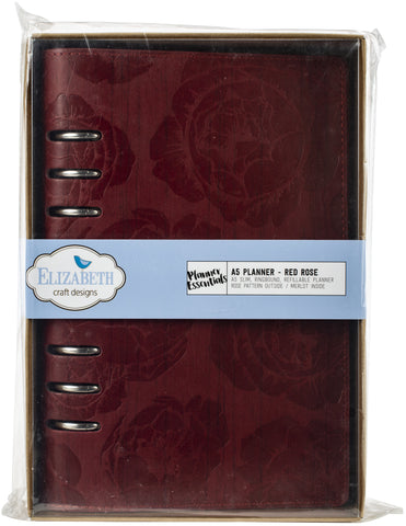Elizabeth Craft Planner Red Rose