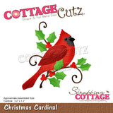 CottageCutz Dies Christmas Cardinal 3.2inX1.2in