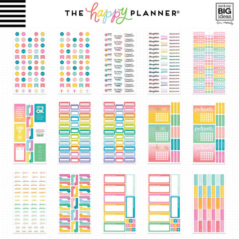 Happy Planner Sticker Value Pack Encouragement 861pk