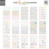 Happy Planner Sticker 100 Sheet Value Pack Pastels 2956pk