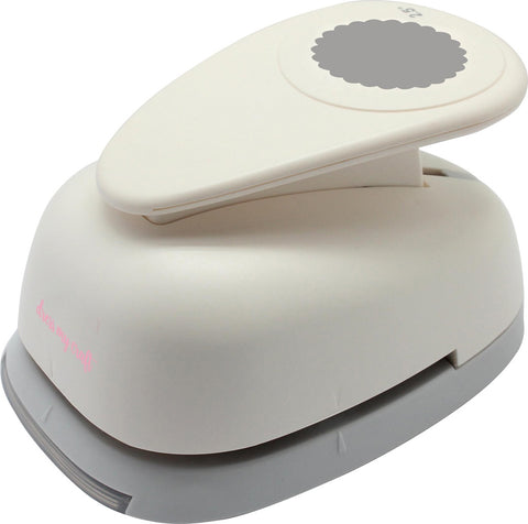 Dress My Craft Paper Punch 2.5in Scalloped Circle