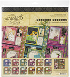 Graphic 45 Collection Pack Fashion Forward 12inX12in