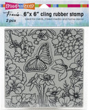 Stampendous Cling Stamps Spring Garden