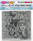 Stampendous Cling Stamps Butterfly Beauty