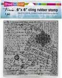 Stampendous Cling Stamps Posted Script