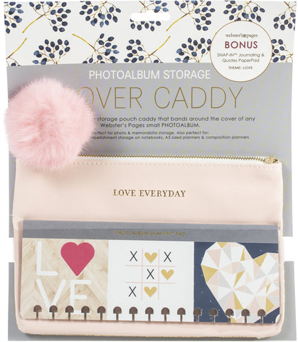 Cover Caddy Kit Small Love Pink/Gold