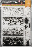 Hero Arts Color Layering Clear Stamps Tulip Field 4inX6in
