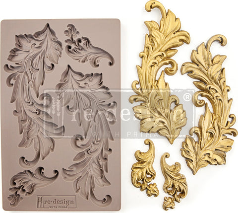 Prima Marketing Re-Design Mould Baroque Swirls