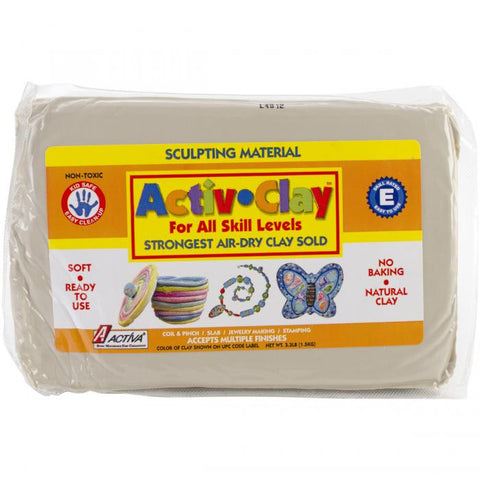 Activa Activ - Clay Self Hardening - White (3.3lbs)