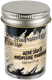 Aged Embossing Enamel Black