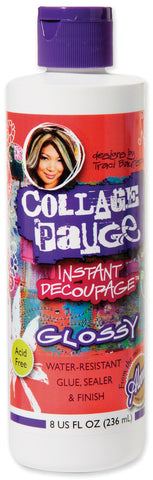 Aleene's Collage Pauge Instant Decoupage Gloss 8oz