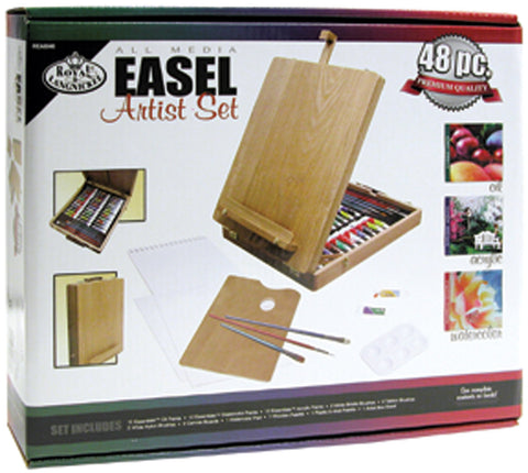 All Media Easel Artist Set 48pcs