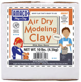 Amaco Air Dry Modeling Clay - White (10lb)