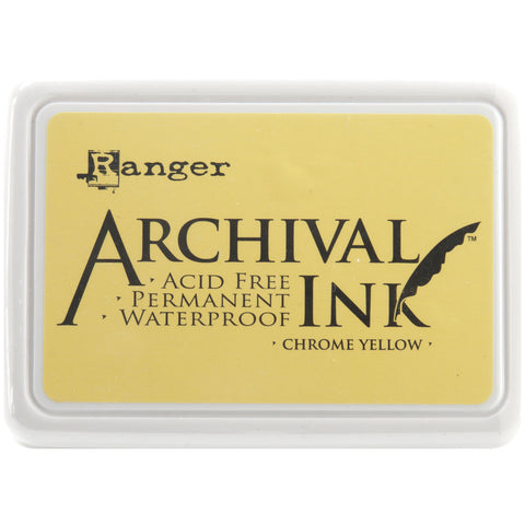 Ranger Archival Ink Pad #0 Chrome Yellow